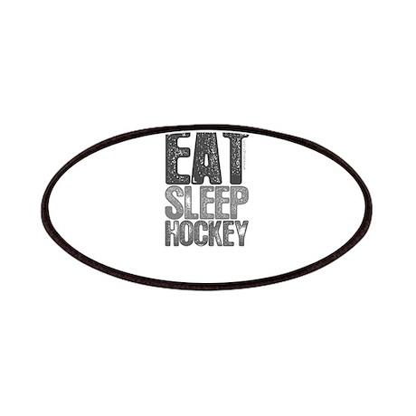 EAT SLEEP HOCKEY Patches
