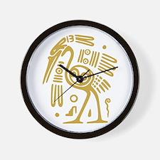 Aztec Bird Wall Clock