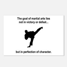 Martial Art Character Postcards (Package of 8)