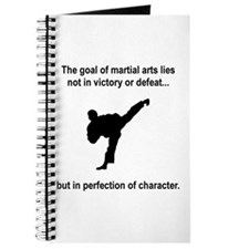 Martial Art Character Journal