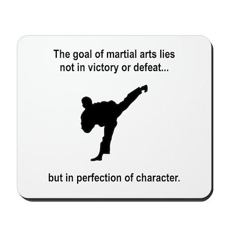 Martial Art Character Mousepad