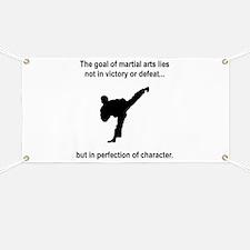 Martial Art Character Banner