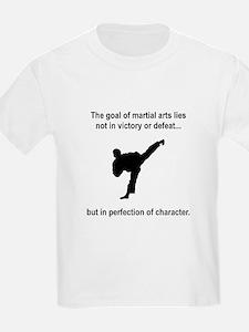 Martial Art Character T-Shirt