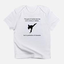 Martial Art Character Infant T-Shirt