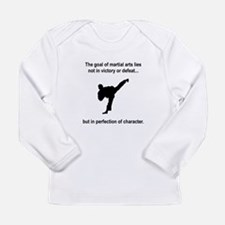Martial Art Character Long Sleeve Infant T-Shirt