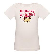 Birthday Girl Monkey Tee