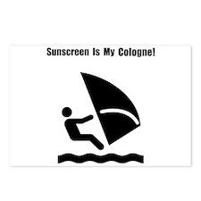 Windsurf Sunscreen Postcards (Package of 8)