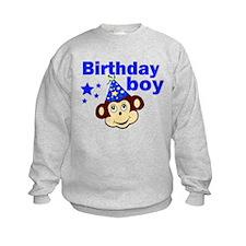 Birthday boy monkey Sweatshirt