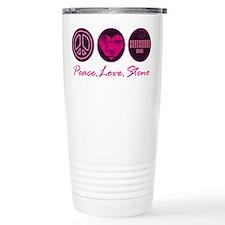 PEACE LOVE STENO Travel Mug