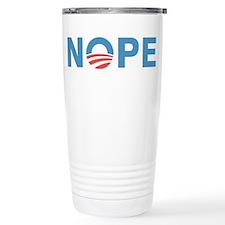 Nope Obama Travel Mug