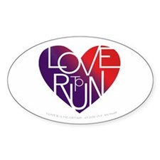 LoveToRun Stickers