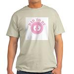 Dad To Be (Girl) Ash Grey T-Shirt
