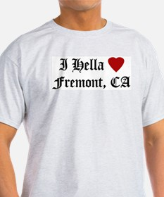 Hella Love Fremont Ash Grey T-Shirt