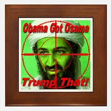 Trump That! Framed Tile