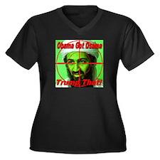 Trump That! Women's Plus Size V-Neck Dark T-Shirt