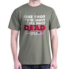 One Shot Two Shot (Dark) T-Shirt