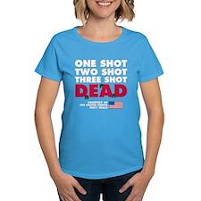 One Shot Two Shot (Dark) Tee