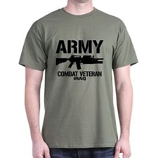 ARMY M4 Iraq Veteran T-Shirt