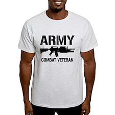 ARMY M4 Combat Veteran T-Shirt