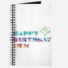 Multi-colour Mum Journal
