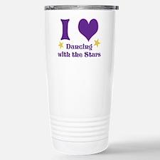 I Heart DWTS Stainless Steel Travel Mug