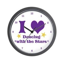 I Heart DWTS Wall Clock