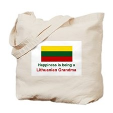 Lithuanian Grandma Tote Bag