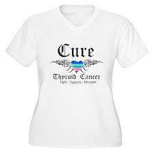 Cure Thyroid Cancer T-Shirt