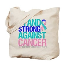 Stand Strong Thyroid Cancer Tote Bag