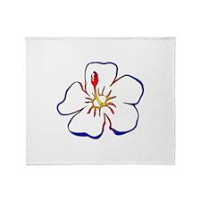 Hibiscus 2 - Throw Blanket