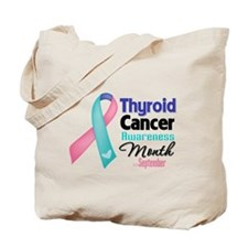 Thyroid Cancer Month Tote Bag