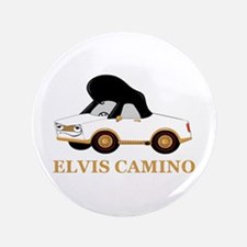 "Elvis Camino 3.5"" Button"