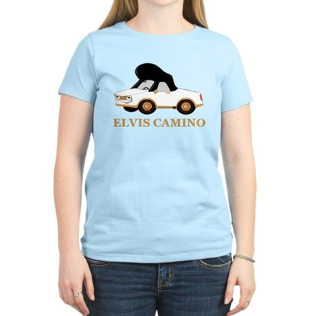 Elvis Camino Women's Light T-Shirt