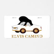 Elvis Camino Aluminum License Plate