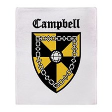 Clan Campbell Throw Blanket