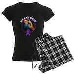 We Can Do It Alzheimers Women's Dark Pajamas