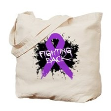 Fighting Back Alzheimers Tote Bag