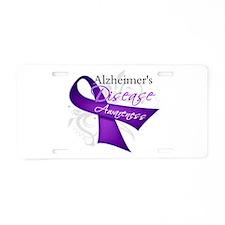 Alzheimer's Disease Aluminum License Plate