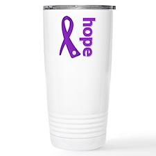 Hope Ribbon Alzheimers Travel Mug