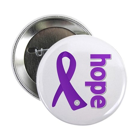 "Hope Ribbon Alzheimers 2.25"" Button (10 pack)"