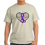 Hope Heart Alzheimers Light T-Shirt