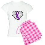 Hope Heart Alzheimers Women's Light Pajamas