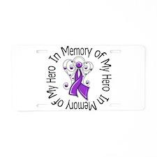 In Memory Alzheimer's Disease Aluminum License Pla