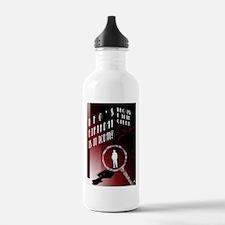 Detective Water Bottle