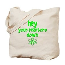 funny nuclear reactor Tote Bag