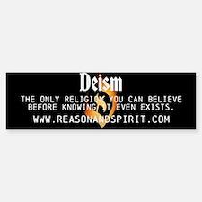 Unified Deism Bumper Bumper Sticker