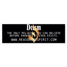 Unified Deism Bumper Sticker