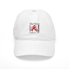 Heart Disease Awareness Baseball Cap