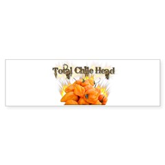 Habanero- Chile Head Sticker (Bumper)