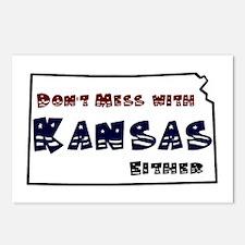 Funny Kansas jayhawks Postcards (Package of 8)